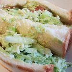 レタスのサンドイッチ